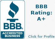 BBB Badge for East Indy Dental Care