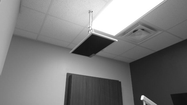 East Indy Dental Care Ceiling TV